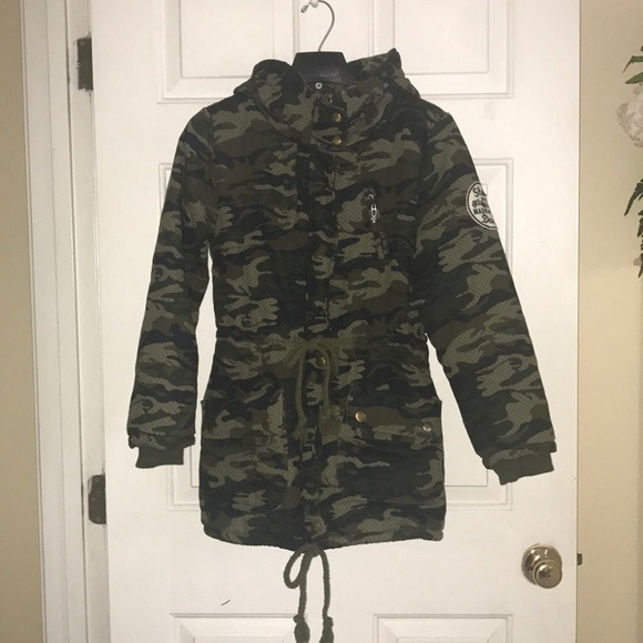 345002d4349 Made For Fame / Japanese Brand Jackets & Blazers - ARMY DOWN JACKET W/ HOODY